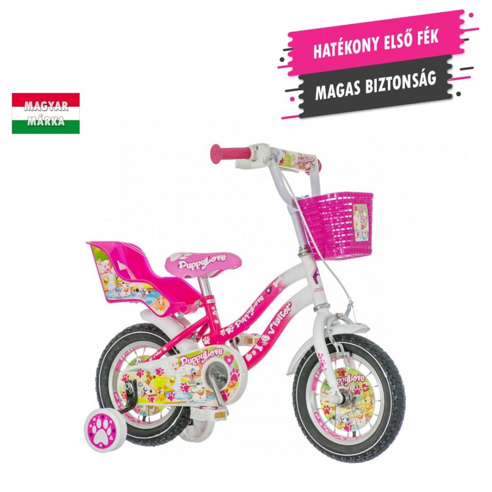KPC Puppy Love 12 kiskutyás gyerek kerékpár HAJMERESZTŐ ÁRON ... a7e76db5cb