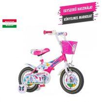 KPC Unicorn 12 unikornisos gyerek kerékpár HAJMERESZTŐ ÁRON
