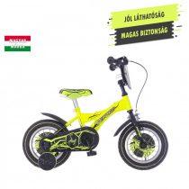 KPC Player 12 focis neonsárga gyerek kerékpár