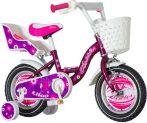 KPC Liloo 12 rózsaszín lány gyerek kerékpár