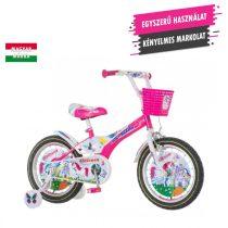 KPC Unicorn 16 unikornisos gyerek kerékpár HAJMERESZTŐ ÁRON