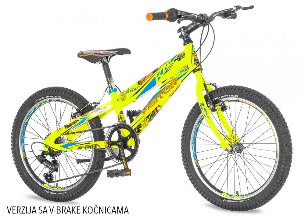 Visitor Fox 20 gyerek kerékpár HAJMERESZTŐ ÁRON Zöld ... 387b7a401f