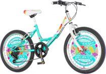 Explorer Fashion 20 gyerek kerékpár HAJMERESZTŐ ÁRON Türkiz