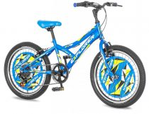Explorer Robix 20 kék gyerek kerékpár HAJMERESZTŐ ÁRON