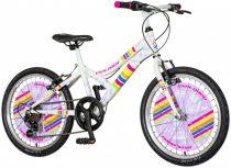 Explorer Daisy 20 rózsaszín gyerek kerékpár HAJMERESZTŐ ÁRON