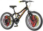 Explorer Legion Racer 20 gyerek kerékpár Fekete-Piros