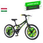 KPC Robix 20 gyerek kerékpár Fekete-Zöld
