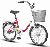 Scout Pony camping kerékpár Fehér-Rózsaszín