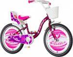 KPC Liloo 20 rózsaszín lány gyerek kerékpár