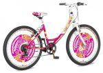 Explorer Fashion 24 gyerek kerékpár  Rózsaszín