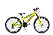 Visitor Fox 24 gyerek kerékpár HAJMERESZTŐ ÁRON Zöld