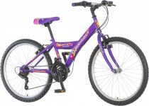 Venssini Parma 24 rózsaszín gyerek kerékpár HAJMERESZTŐ ÁRON