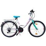 Venssini Rimini City 24 gyerek kerékpár Fehér