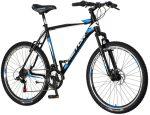 Visitor Hunter 26 MTB kerékpár Fekete-Kék Tárcsafékes