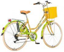 Visitor Bambusz városi kerékpár LEGJOBB AJÁNLAT Sárga