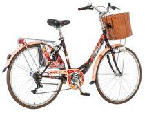 Visitor Pipacs városi kerékpár LEGJOBB AJÁNLAT Barna