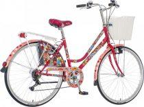 Visitor Kolibri városi kerékpár LEGJOBB AJÁNLAT Bordó