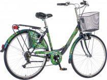 Visitor Peacock pávás városi kerékpár LEGJOBB AJÁNLAT zöld
