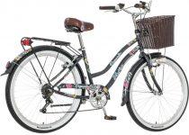 Visitor Deepwater virágos női váltós cruiser kerékpár grafit