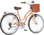 Visitor Cosmic Love virágos női cruiser kerékpár  krém