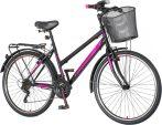 Venssini Roma női MTB kerékpár  Fekete