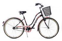 Explorer Cherry Blossom kontrás városi kerékpár LEGJOBB AJÁNLAT Fekete