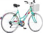 Explorer Summer városi kerékpár kontrás Világoskék