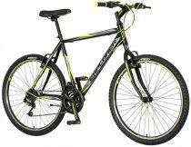 Explorer Elite Man 26 MTB kerékpár HAJMERESZTŐ ÁRON Fekete