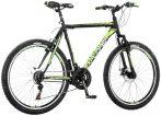 Explorer Classic 26 férfi MTB kerékpár tárcsafékes Fekete