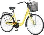 Venssini Diamante krém női városi kerékpár