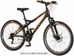 Explorer Vortex 26 gyerek MTB kerékpár  Fekete