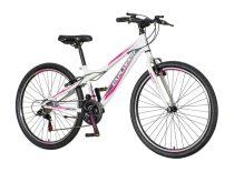 Explorer North 26 lány gyerek MTB kerékpár HAJMERESZTŐ ÁRON Fekete-Menta