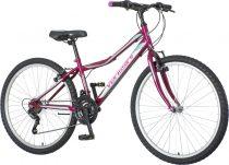 Venssini Modena 26 MTB gyerek kerékpár HAJMERESZTŐ ÁRON Lila
