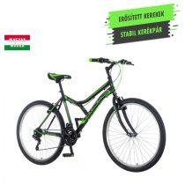 KPC Legion 26 férfi MTB kerékpár Fekete-Zöld