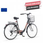 Venssini Rosemary női váltós városi kerékpár Grafit