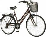 Explorer Batik váltós városi kerékpár Barna