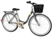 Visitor Napraforgó városi kerékpár LEGJOBB AJÁNLAT Fekete