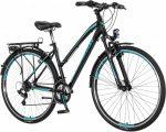 Visitor Terra Lady női trekking kerékpár Fekete-Menta
