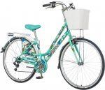 Visitor Camille kamillás városi női kerékpár mentazöld