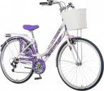 Visitor Lavender levendulás női városi kerékpár lila