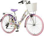 Visitor Holicolor városi kerékpár Fehér