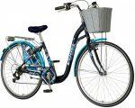 Visitor Eternity városi kerékpár Kék