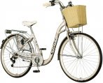 Visitor Silencio városi kerékpár Krém kontrás