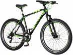 Visitor Blade 27,5 kerékpár Fekete-Neonzöld