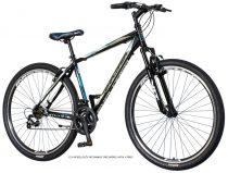 Explorer Elite 29er tárcsafékes MTB kerékpár Fekete