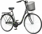 Venssini Diamante 28 fekete női városi kerékpár