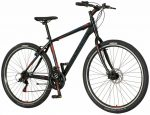 Explorer North 29er kerékpár Fekete-Piros Tárcsafékes