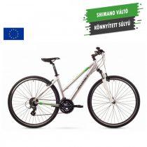 Romet Orkan 2 női crosstrekking kerékpár 2016 ezüst-zöld L