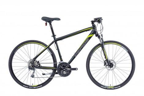Gepida Alboin 300 PRO CRS crosstrekking kerékpár több színben Fekete