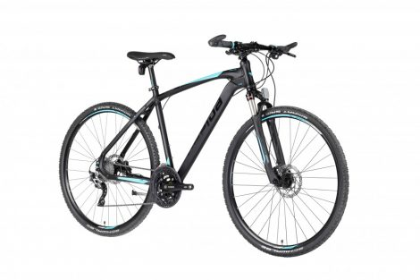 Gepida Alboin 700 CRS crosstrekking kerékpár Fekete